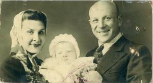 Xenia Vladimirovna, Serge Ermoll Jr (3 months), Sergei Ermollaeff