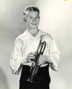 Serge Ermoll Jr on trumpet age 14