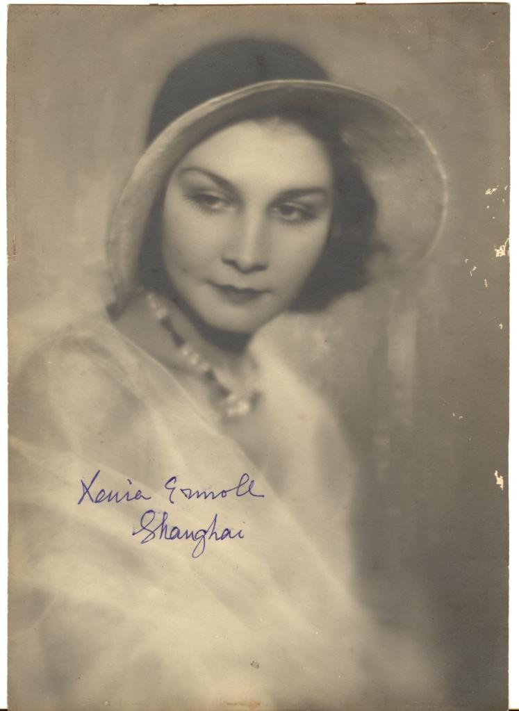 Portrait of a Lady: Xenia Vladimirovna: Shanghai 1930: Russian