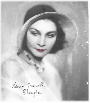 Virtual Archive of Cultural Memories: Portrait of Xenia Vladimirovna, Shanghai, China, 1930s