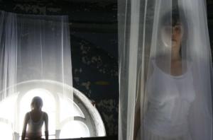 Lara O'Reilly's ABSENCE: PRESENCE installation Kronstadt, Russia