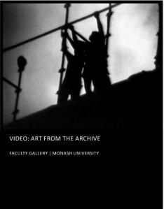 Image: Failure To Materialise by Geoffrey Weary, Video: Art From the Archive, Monash University