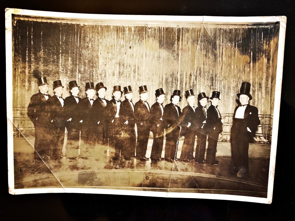Serge Ermoll & his orchestra Сергей Ермолаев 'Tower Nightclub', the Officer's Club, Silk Hat The Cathay Hotel with trio (1945-1949)